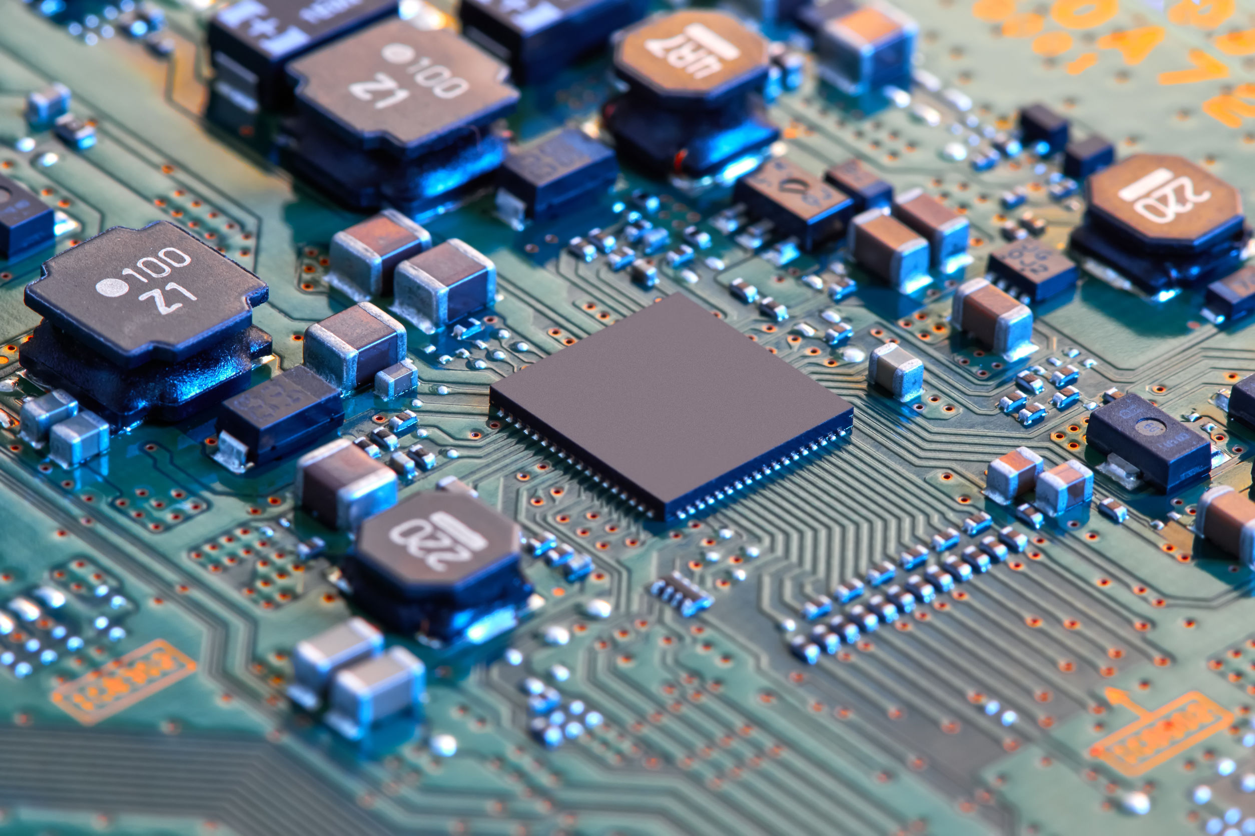 electronic manufacturing concept